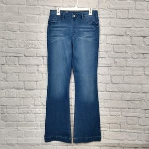 Hot In Hollywood | Silky Denim Pull-on Jeans